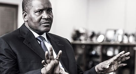 Dangote Now Ranked 64th In World Richest List