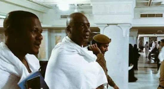 Hajj: Saraki Joins Other Muslim Faithful In Saudi Arabia