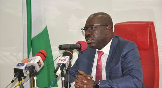 Gov. Obaseki Speaks On His Suspension By A Faction Of APC Loyal To Oshiomhole