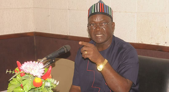Akume Has Vowed To Make The State Ungovernable, Gov. Ortom Laments