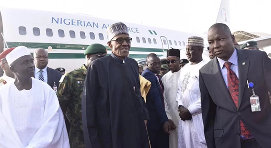 Buhari's Return Excites Villa, Nigerians