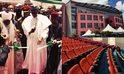 President Buhari Commissions Laudable Projects In Kaduna