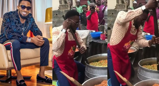 Entertainment Star D'banj Celebrates 38th Birthday, Does Cookout