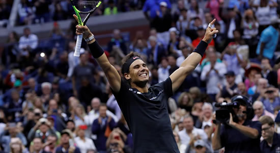 Rafael Nadal Propels Himself To victory Towards A 19th Grand Slam Title