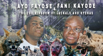 Ayo Fayose and Fani Kayode