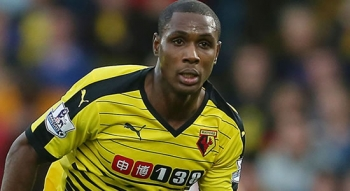 Ighalo Arrives Manchester Set To Team Up With The Rest Of The Squad